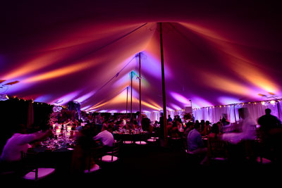 Indian Wedding in Sperry Tent in Charlottesville