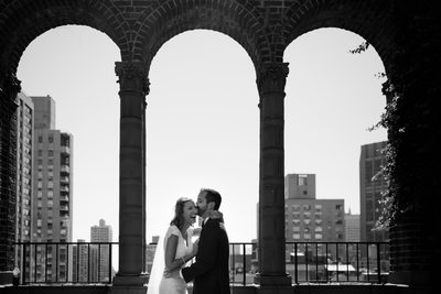 new york rooftop wedding ceremony