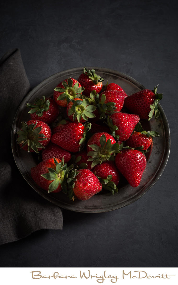 Fresh Strawberry Still Life