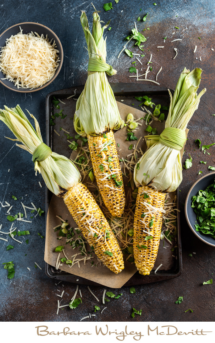 Minneapolis Food Photographer Grilled Corn