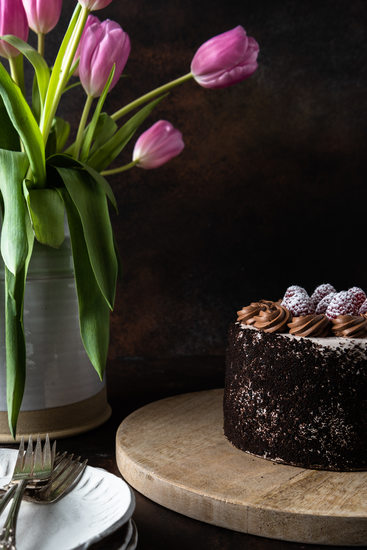 Barbara Wrigley McDevitt Food Photographer Death by Chocolate Cake