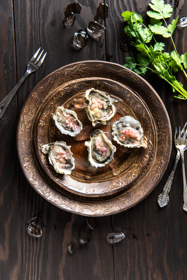 Minneapolis Food Photographer Kumamoto Oysters