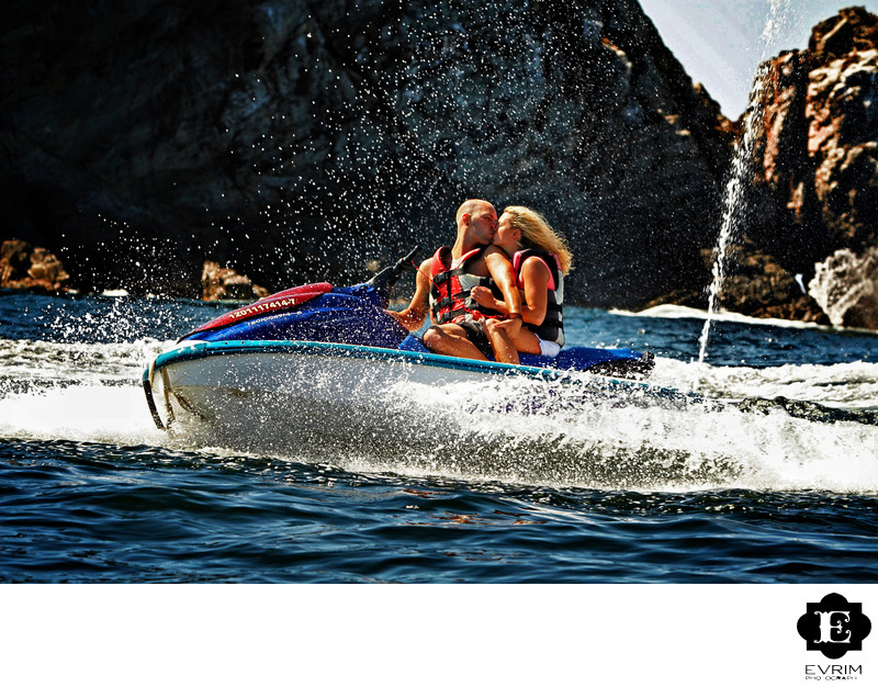 Ixtapa Wedding on Jet Ski