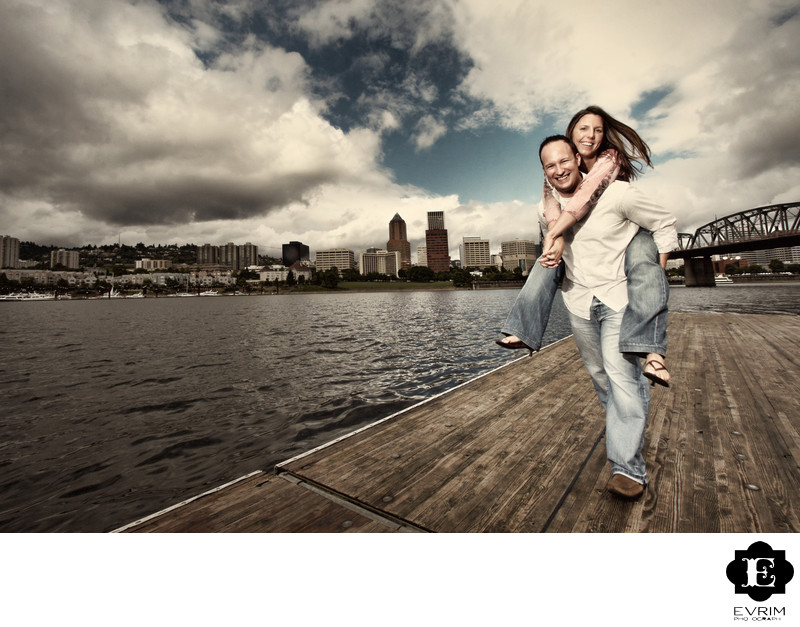 Portland Engagement Picture