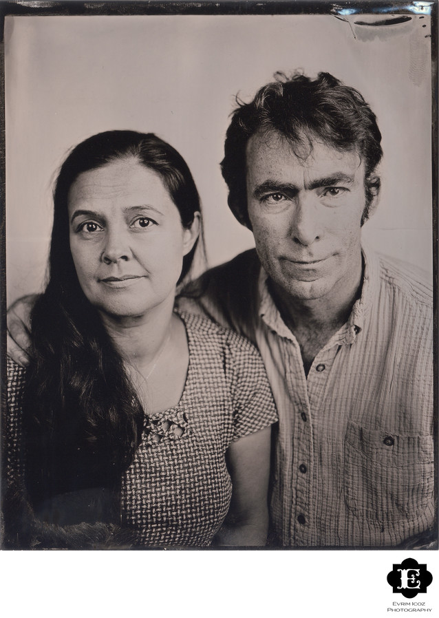 Portland Tintype Family Portrait Photographer