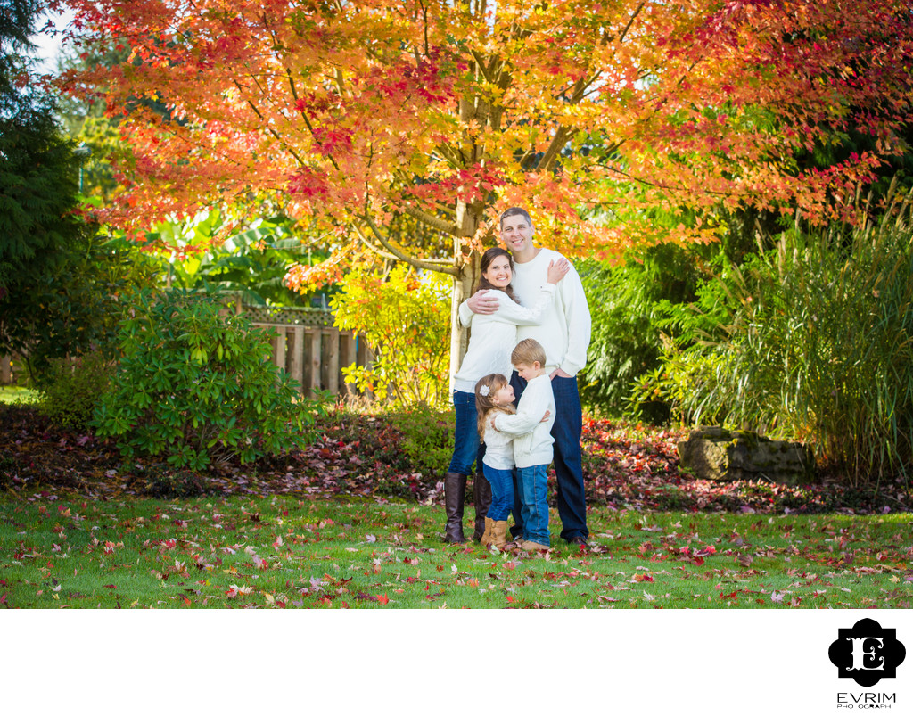 Fall Family Portraits in Portland.