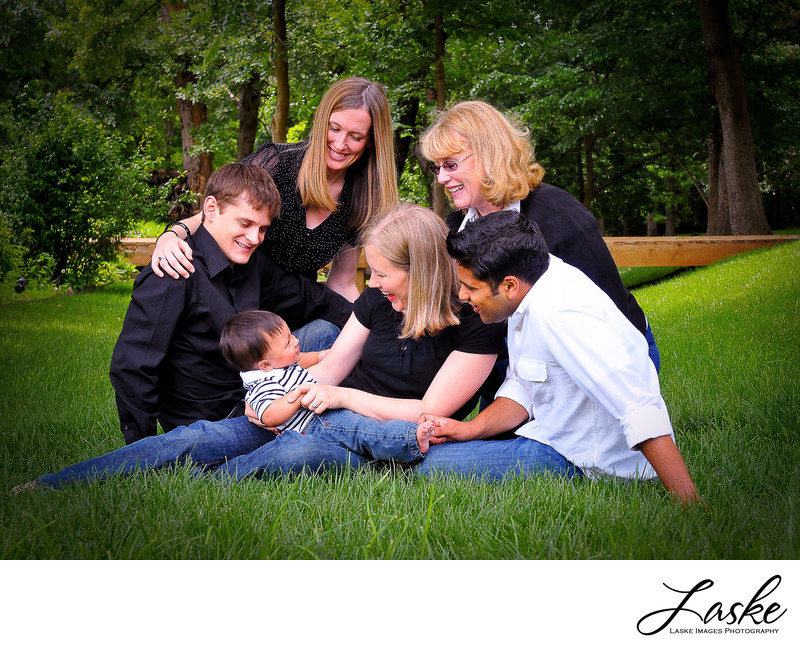 Outdoor Family Photos in Edmond, OK