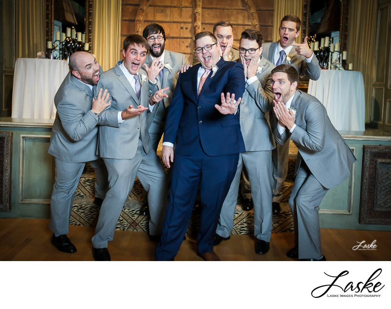 Groom Shows Off Wedding Ring and Groomsmen Are Shocked