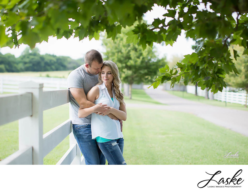 Engagement Session with Country Couple