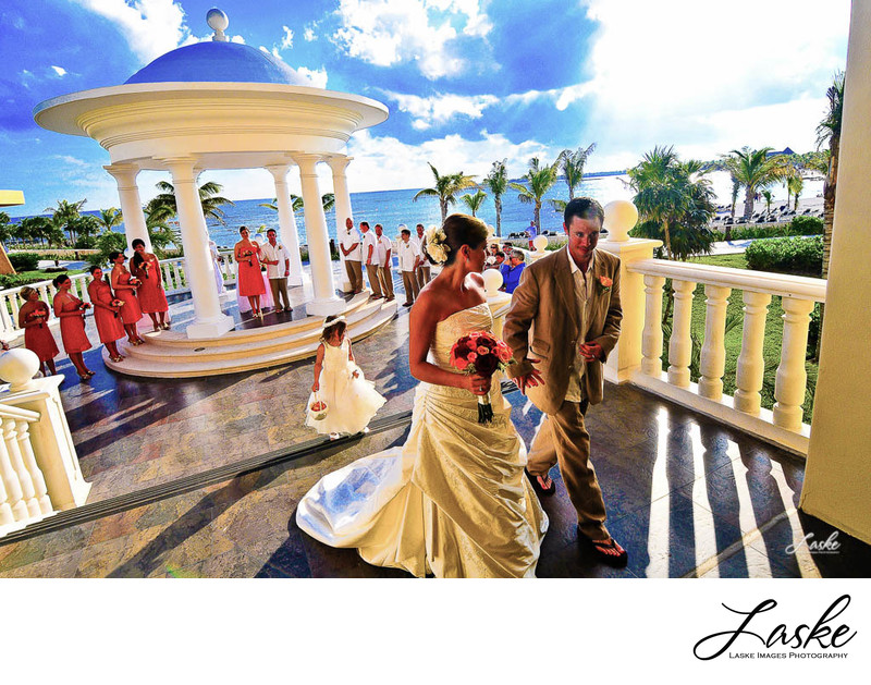Destination Wedding in Cancun in the Barcello Palace