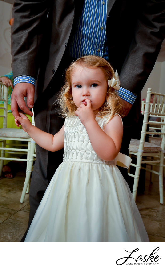 Cute-Flower-Girl-Holds-Dads-Hand