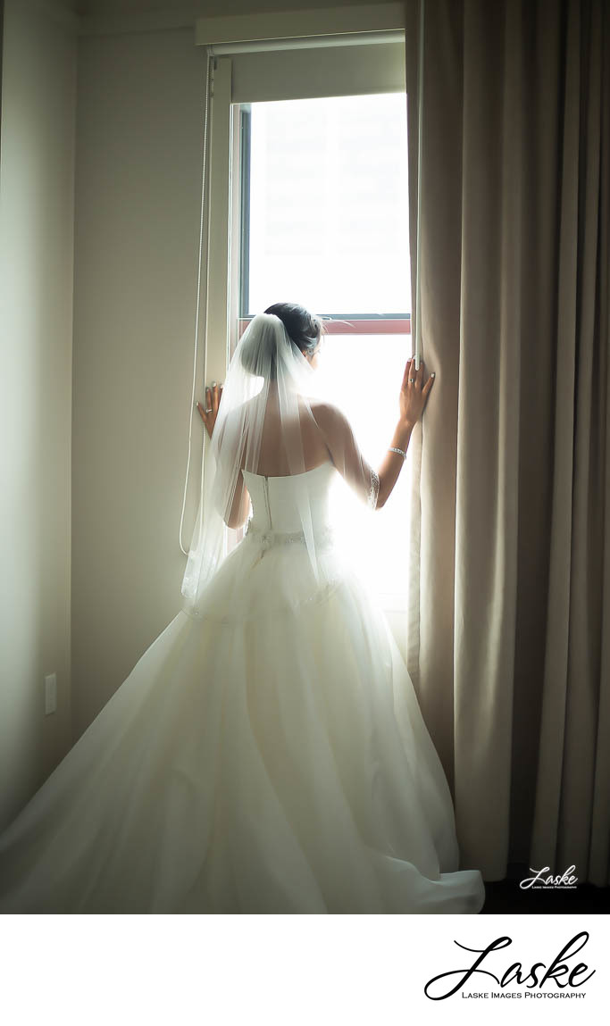 Bride-Looks-Out-Window