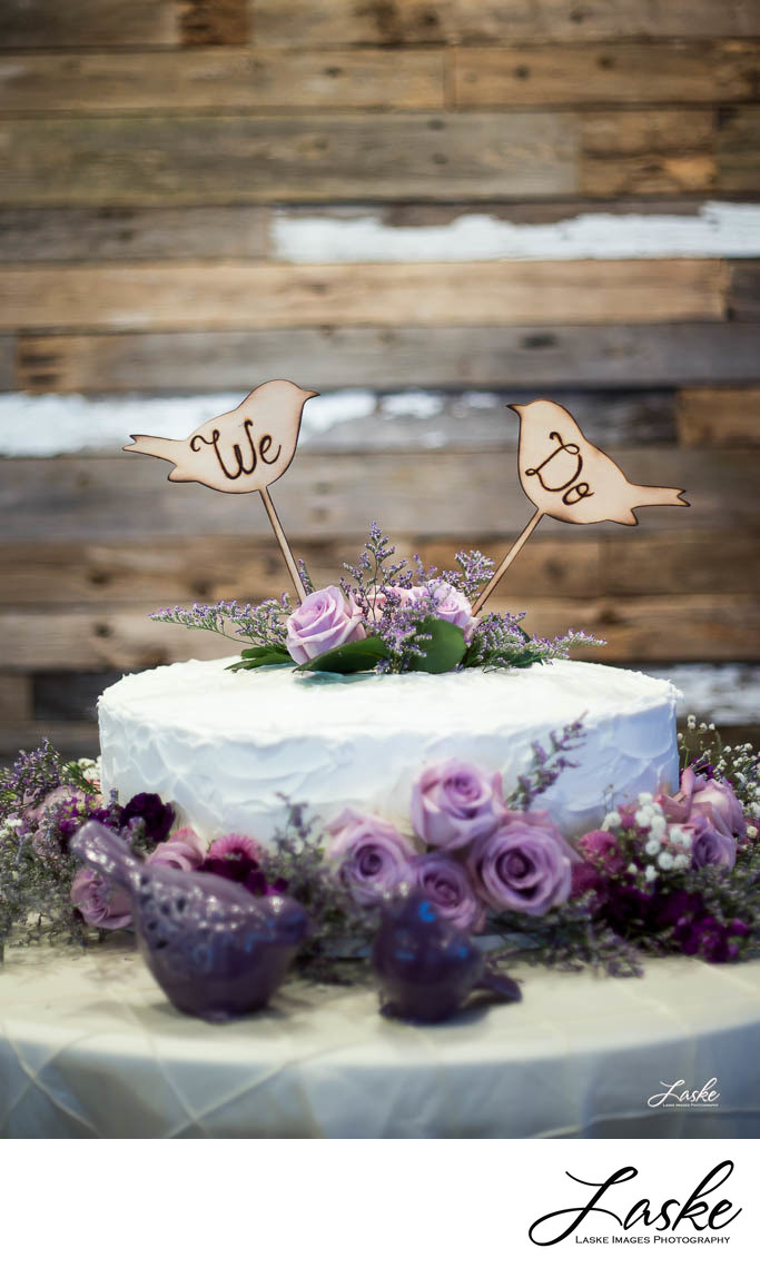 We Do Cake Topper Wedding Reception
