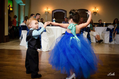 Ringbearer and Flower Girl Dance