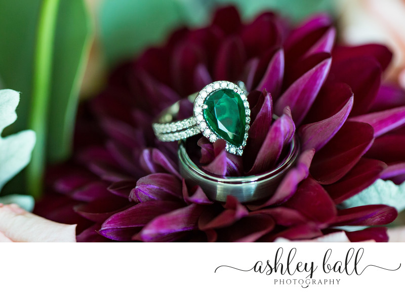 Stunning Emerald Engagement Ring