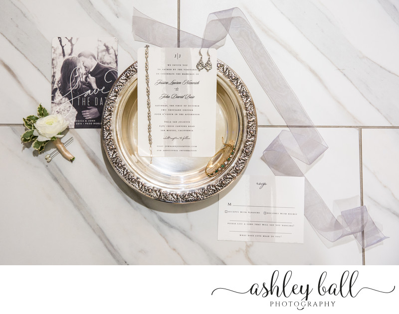Timeless Photos of Wedding Invitation Suite