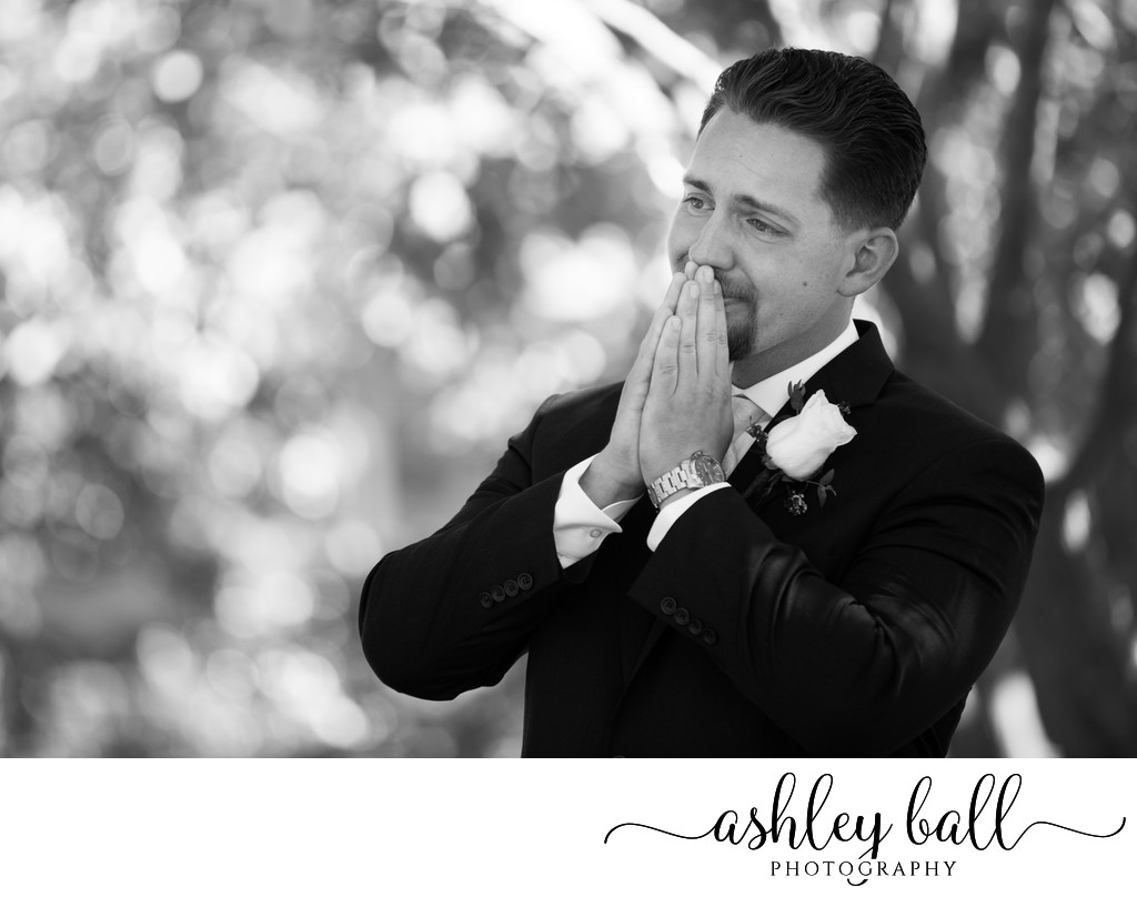 Sacramento Groom's Emotional Reaction In First Look