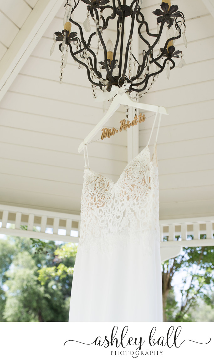 Bridal Gown at Haggin Oaks Golf Course in Sacramento