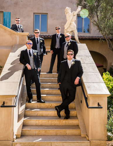 Groomsmen Photos in Sacramento, California
