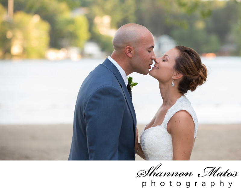 Beach Wedding at Lake Pearl Wrentham