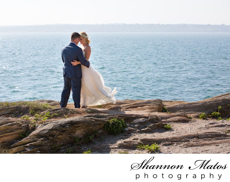 Beavertail State Park Wedding photos