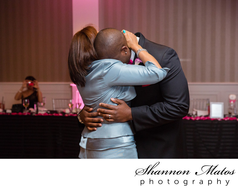 Mother & Son dance at Renaissance Boston Patriot Place