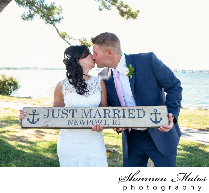 Nautical Wedding at Gurney's Newport Resort
