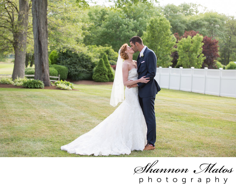 Bridal Portraits at the Villa in East Bridgewater