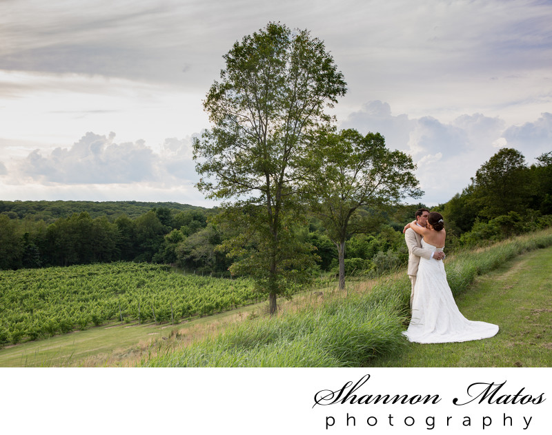 Wedding Portraits at Preston Ridge Vineyards