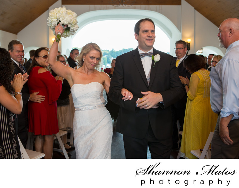 Wedding Ceremony at Lake Pearl Wrentham