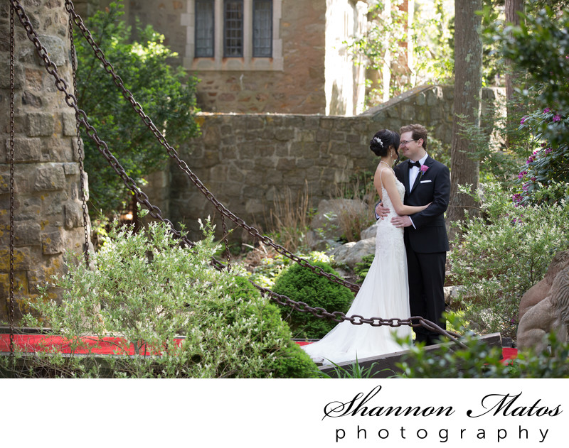 Wedding at Hammond Castle in Gloucester, Massachusetts