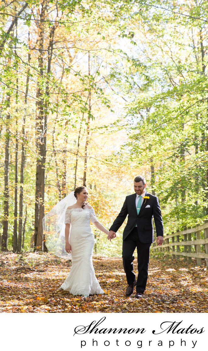 Fall Wedding in Rehoboth, MA at the Five Bridge Inn