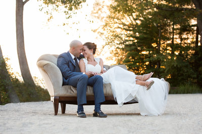 Boathouse Beach Wedding at Lake Pearl Wrentham