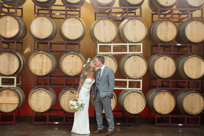 Wedding photos at Newport Vineyards