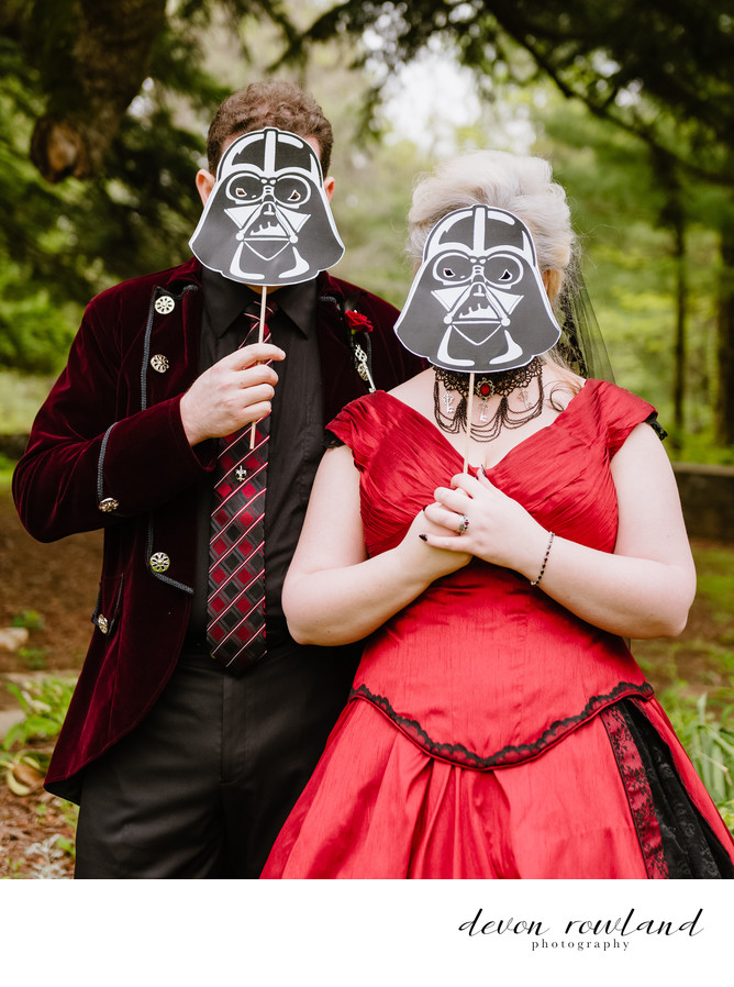 Rust Manor House Photos Star Wars Goth Nerd Wedding FTW