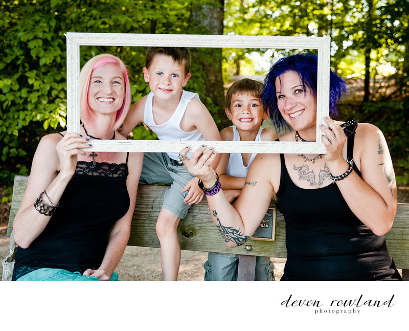 LGBT Family Photography Photo in Virginia