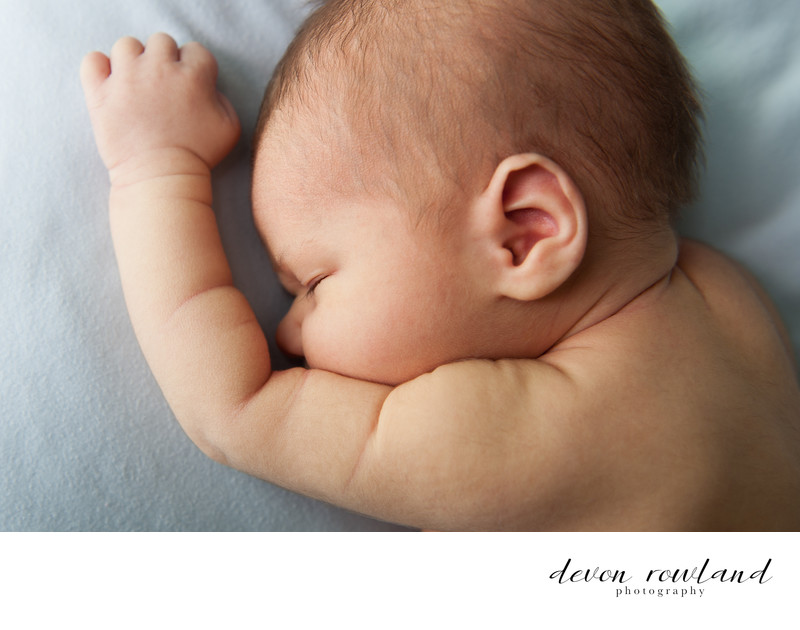 Newborn Photographer in DC for Sweet, Sleepy Moment