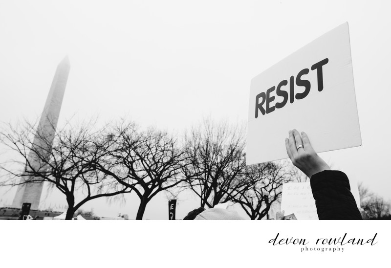 Women's March DC 2017 by DC and Virginia Photographer