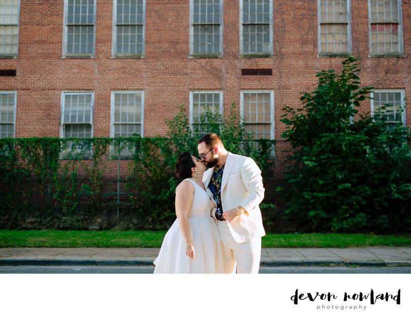 DC Wedding Photographer with Bride and Groom