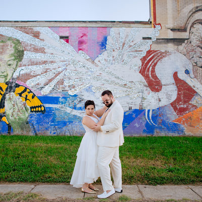 Sassy wedding photo by DC wedding photographer