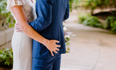 DC Bride and Groom Can't Keep Their Hands Off Each Other