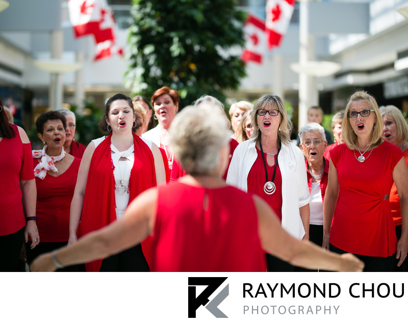 QuadReal Choir Performance