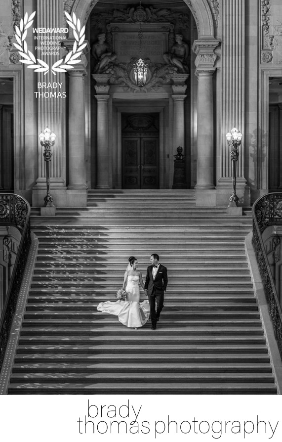 Award Winning City Hall Wedding Photographer