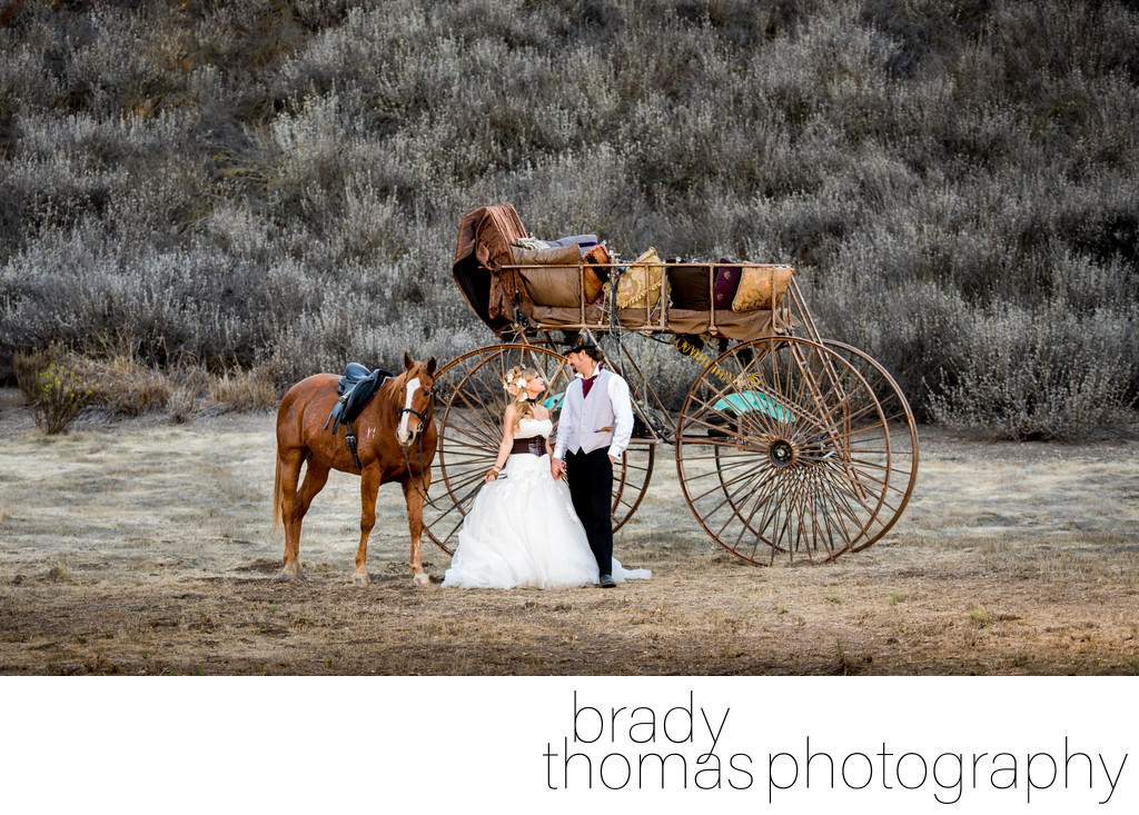 Wedding Photographer Steampunk California