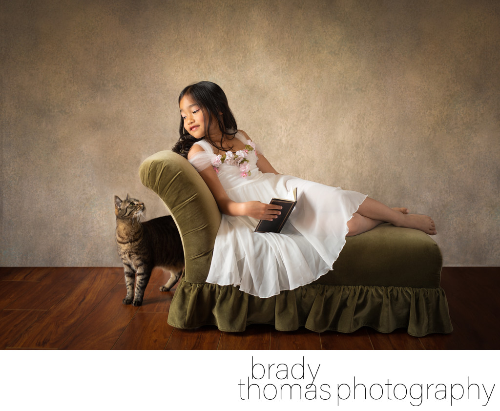 Children's Portraits with Pets