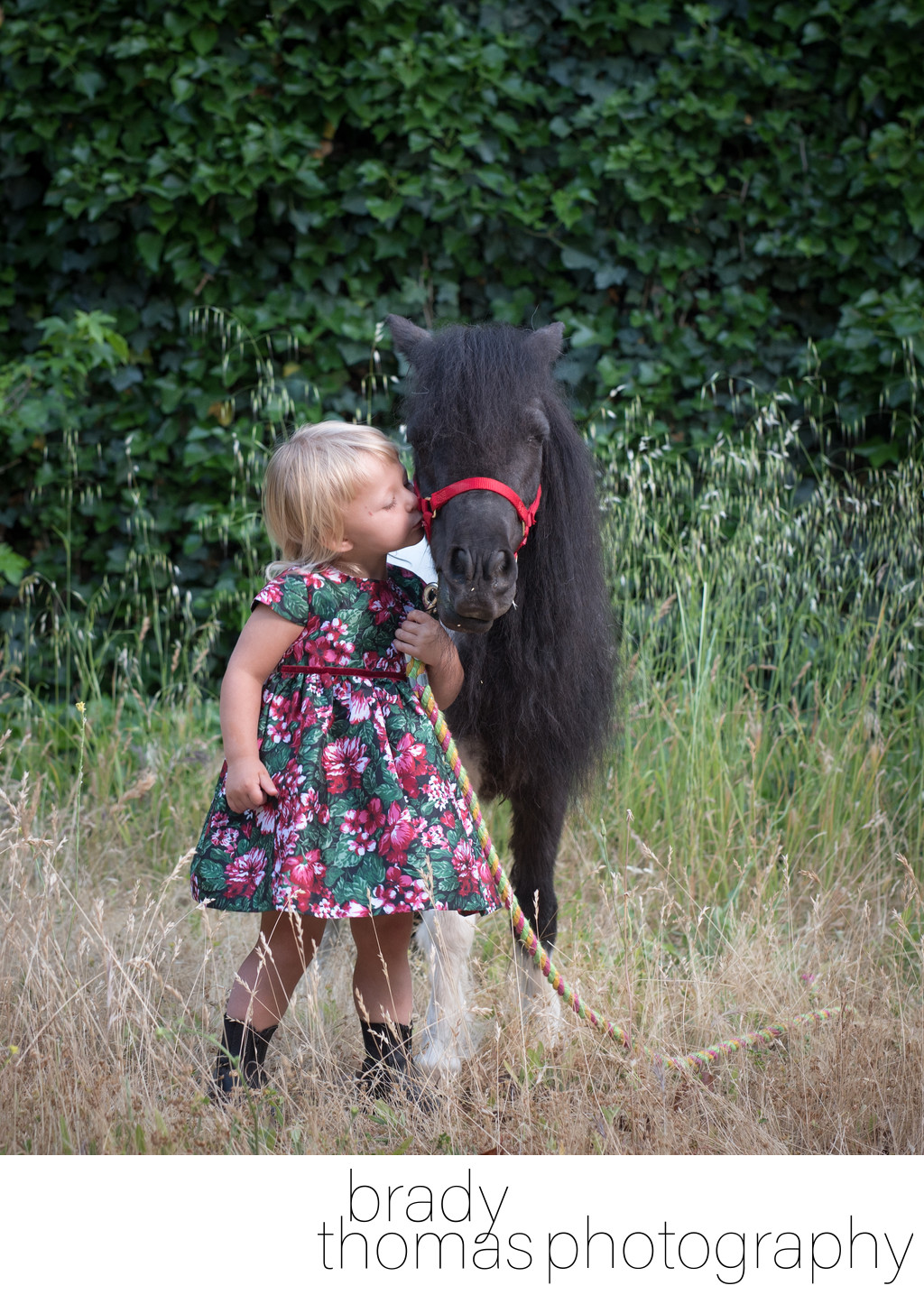 Kid and Pony Photos