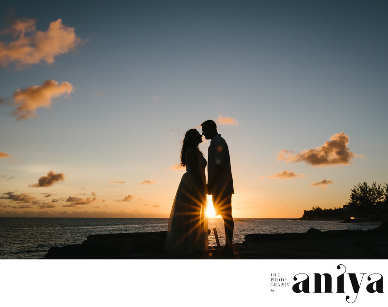 Top Engagement Photographer in Maxwell - Barbados Wedding Photography