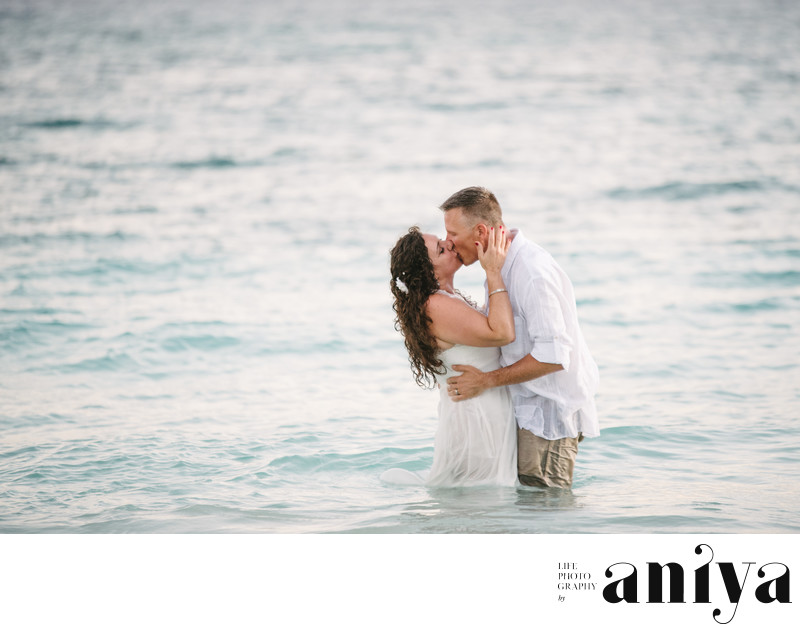 Fun Engagement Photographer in Maxwell - Barbados Wedding Photography