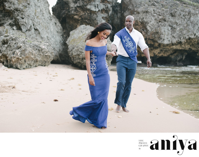 Engagement Photos in Bathsheba - Barbados Wedding Photography