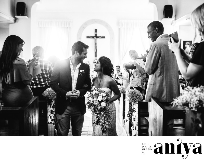 Church Wedding at St. Francis of Assisi - Barbados Wedding Photography